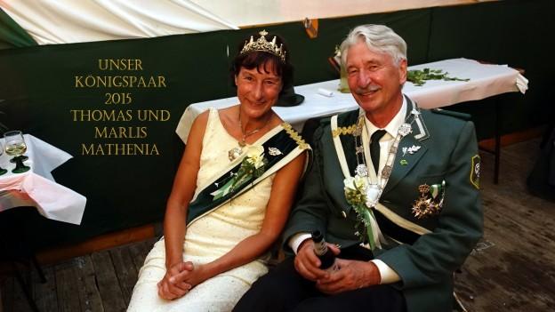 Königspaar Hünxe 2015