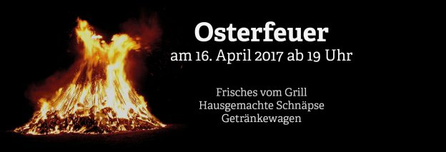 Osterfeuer 2017